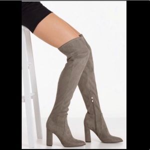 NEW Mark Fisher Over the Knee Nella Boots